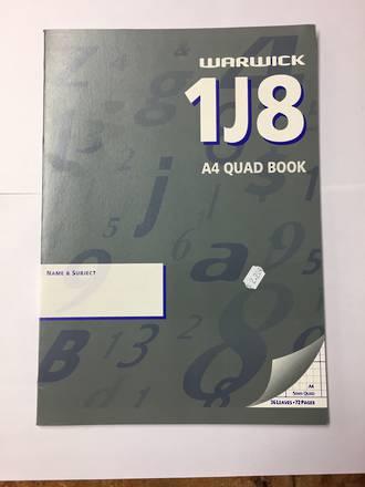 Exercise Books 1J8