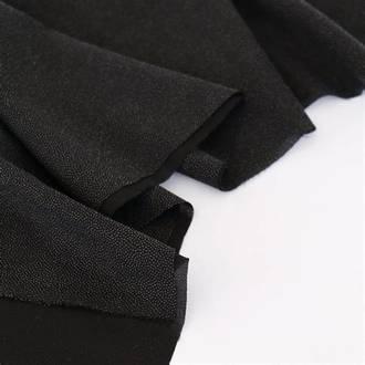 Iron On Interfacing Black
