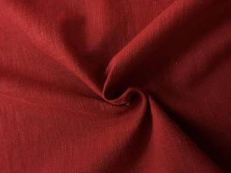 Linen earthy red