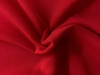 Sweatshirt fabric red