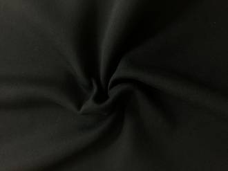 Sweatshirt fabric Black