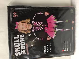 Skull and Bone costume and Tutu - Kids