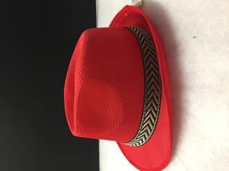 Fedora Hat - Red