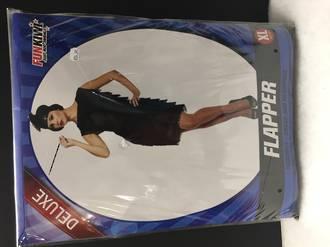 Flapper dress black