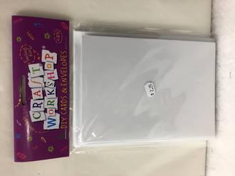 DIY Cards and envelopes - 6 sets