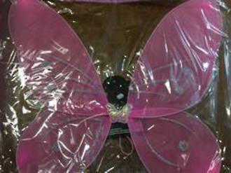 Fabric Mesh Wing Pink 25529PK