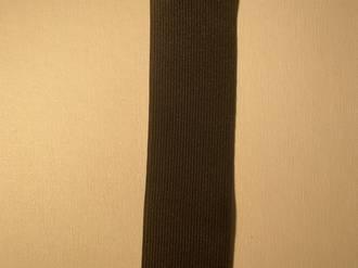 Knitted Elastic 50mm Black