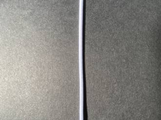 Round Elastic 1.5mm White
