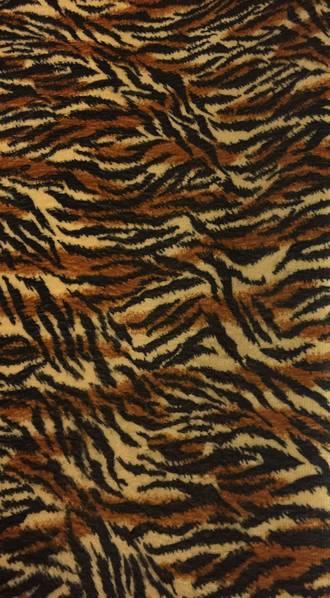Tiger print Polyester fabric 2