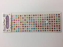 Adhesive Jewel  mini hearts- AC654
