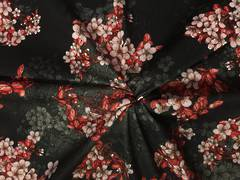 Cherry Blossom on Black ground