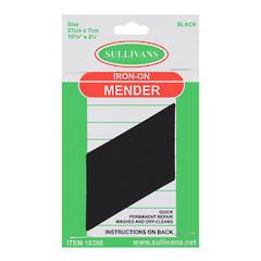 Iron on Mender Black