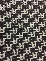 Houndstooth fabric - Black and White
