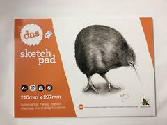 Sketch pad A4 - Kiwi