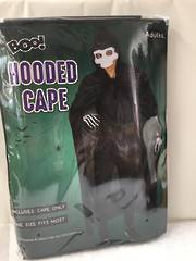 Hooded Cape Adult XH6167