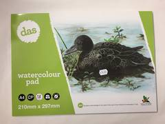 Watercolour pad A4