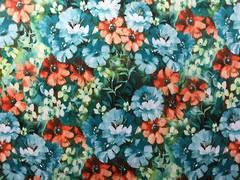 Floral pattern, different tones