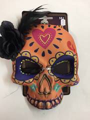 Day of the dead mask - orange