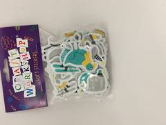 Soft stickers - birds - 99894