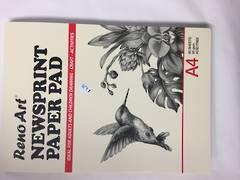 Newsprint paper pad A4