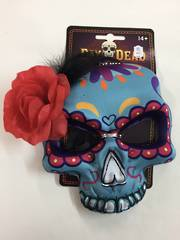 Day of the dead mask - blue