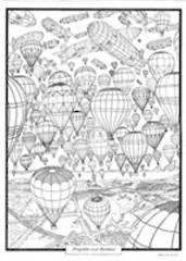 Doodle Art Balloons