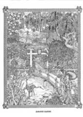 Doodle Art  Japanese garden