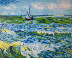 Seascape at Saint Maries (Van Gogh) DD12.029
