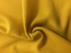 Sweatshirt fabric Mustard