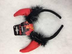 Devil Headband fake leather XH5739