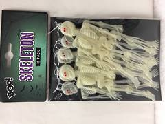 White - Small skeletons - 10 pk -  XH5626