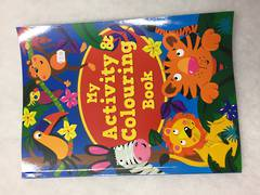 My activity and colouring book