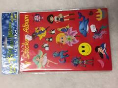 Stickers - My sticker album (red)