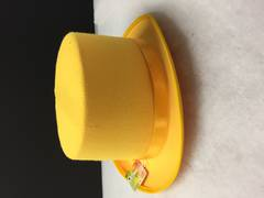 Top hat - yellow