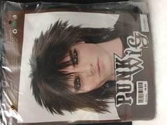 Punk Wig - Black - 76007