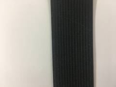 Knitted Elastic 25mm Black