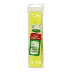 Bias Binding 25mm Yellow