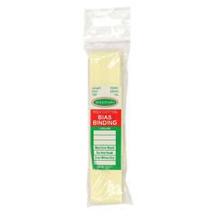 Bias Binding 25mm Cream