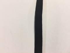 Corded Elastic 3mm Black