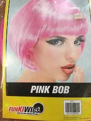 Bob Wig Hot Pink 74013