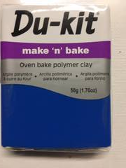 Du-Kit Make n Bake Clay Blue 72