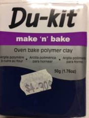 Du-Kit Make n Bake Clay Navy 70