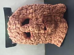 Creepy faces mask - XH7100