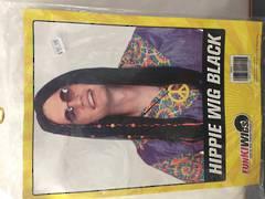 Hippie Black Wig - 68604