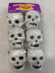 Mini Skull Buckets 6pack