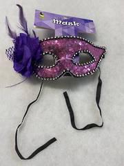 Purple Masquerade Mask PRD413-PUP