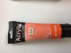 Phoenix Acrylic 75ml Orange 304