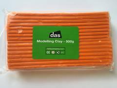 Modelling Clay 500g Orange