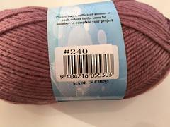 Acrylic Yarn - 8 ply Shade 240