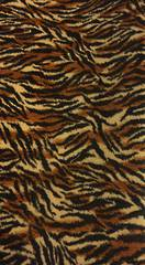 Tiger print Polyester fabric 2